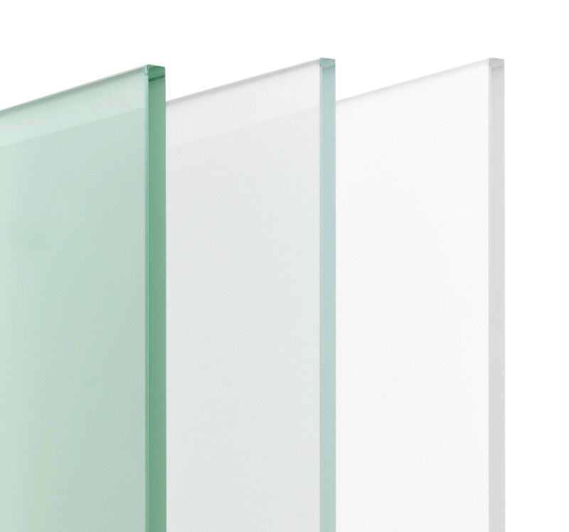 Matelux Clear; Clearvision; Arctic White