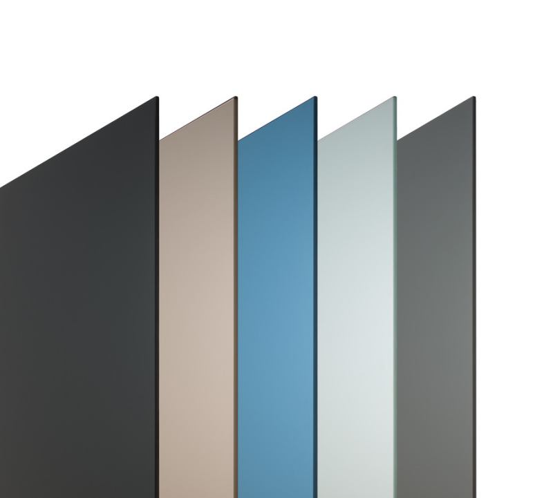Matelux Dark Grey; Bronze; Priva Blue; Linea Azzura; Grey